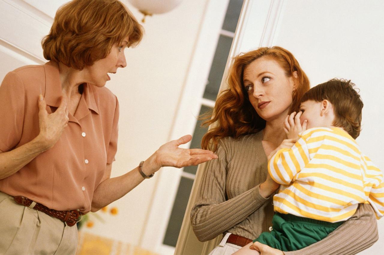 Megtennéd, hogy nem szólsz bele abba, hogyan nevelem a gyerekemet?!